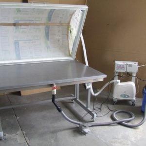 Вакуумный стол с промывочной ванной для реставрации бумаги и тканей