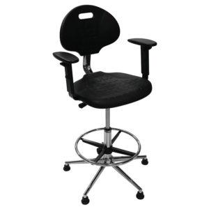 Кресло реставратора с подлокотниками  (на опорах или колесах)