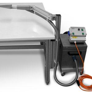 Вакуумный стол BELO для реставрации тканей