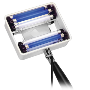Ручные УФ светильники с лупой