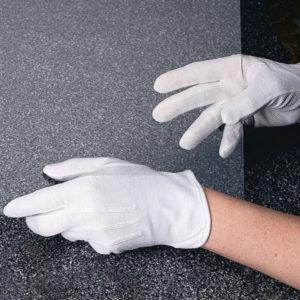 Музейные перчатки с миниточками