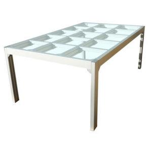 Стол для реставрации тканей со стеклянной поверхностью: 2000 х 1200 мм